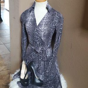 Gorgeous Snakeskin print Wrap Dress by Tart